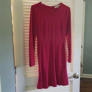 Long sleeved Ann Taylor Loft Dress